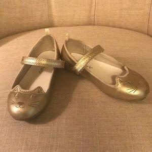 "Girls ""Cat"" Dress Shoes"